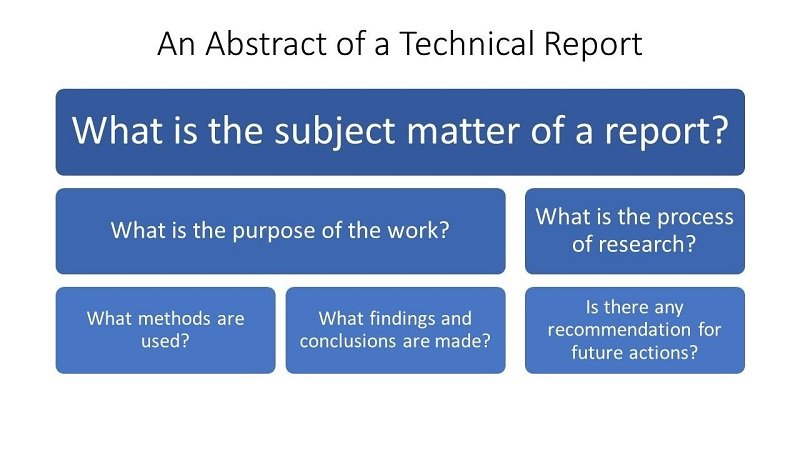 technical report abstract